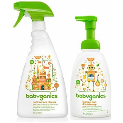 Babyganics Multi Surface Cleaner with Dish & Bottle Soap, Citrus
