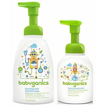 Babyganics Foaming Hand Soap with Dish & Bottle Soap
