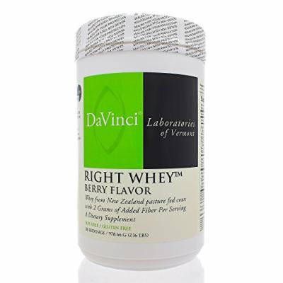 Davinci Labs Right Whey Berry Flavor 2.16 lbs