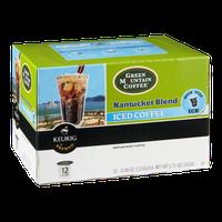 Green Mountain Coffee Keurig Nantucket Blend Iced Coffee Medium Roast K-Cups - 12 CT