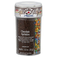 Accents Decors XCell 4 Chocolate Ice Cream Accents, 5.01-Ounce (Pack of 3)