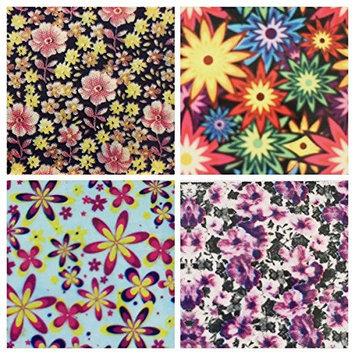 FLOWERY NailHugs - 4 strips