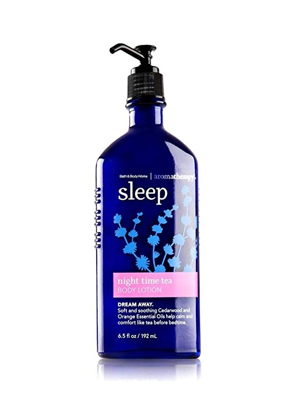 Bath & Body Works Aromatherapy SLEEP NIGHT TIME TEA Body Lotion