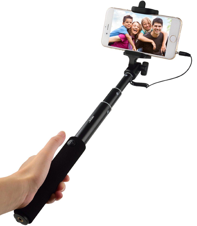 iXCC ® Ultra Light Aluminum Extendable Monopod Selfie Stick Kit