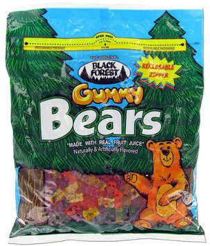 Black Forest Gummy Bears Ferrara Candy Natural And Artificial Flavors