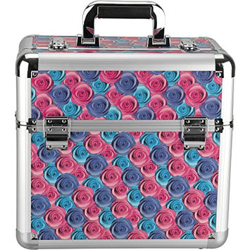 Hiker PT4302 Professional Makeup Train Case Portable Cosmetic Jewelry Box Organizer