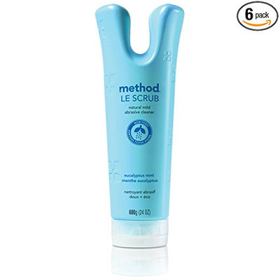 method le scrub soft abrasive cleaner eucalyptus mint