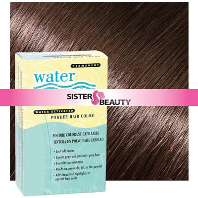 Waterworks Permanent Powder Hair Color #23 Natural Dark Brown
