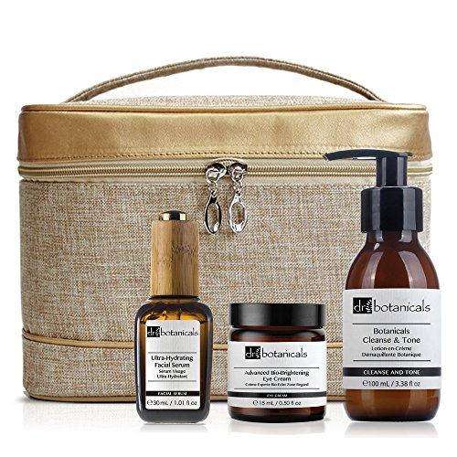 Dr Botanicals Bag Set Cleanse and Tone