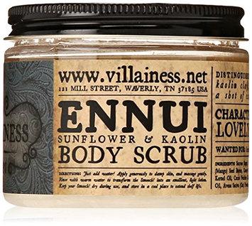 Villainess Ennui Unscented Body Scrub
