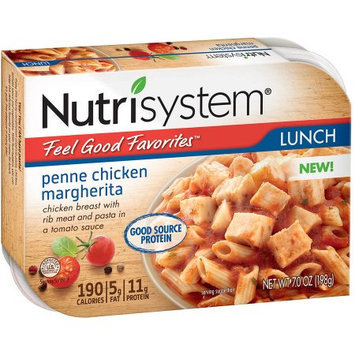 Nutrisystem Feel Good Favorites Penne Chicken Margherita, 7 oz