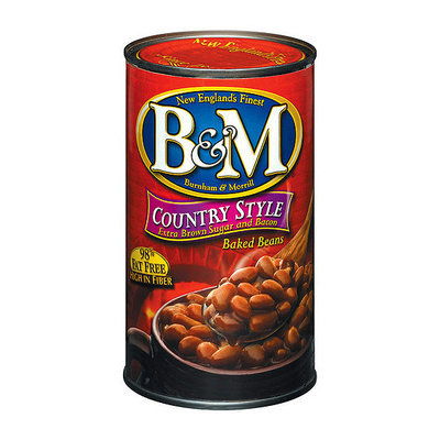 B&M : Country Style Extra Brown Sugar & Bacon Baked Beans