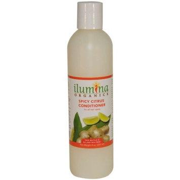 Ilumina Organics Conditioner, Spicy Citrus, 8.0-Ounce Bottle (Pack of 2)