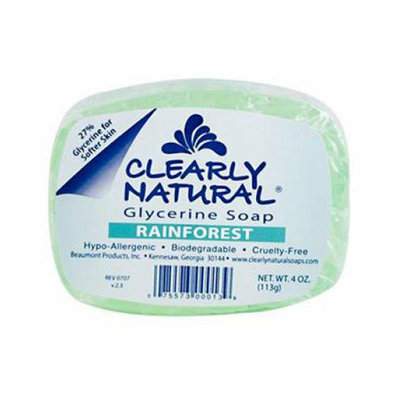 Clearly Naturals Clearly Natural Glycerine Bar Soap Rainforest 4 oz