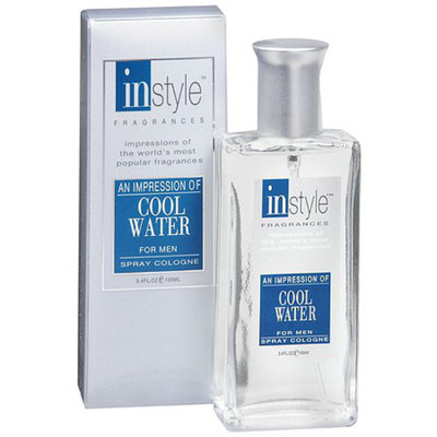 Instyle Fragrances An Impression Spray Cologne for MenCool Water