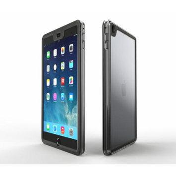 iPad Air 2 Case - roocase Gelledge iPad Air 2 2014 Premium Hybrid PC / TPU Full Body Protective Case Cover (Granite Black) for Apple iPad Air 2 (2014) 6th Generation Latest Model