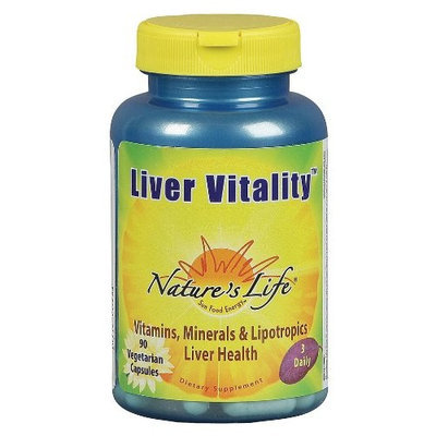 Nature's Life Liver Vitality Veg Capsules, 90 Count