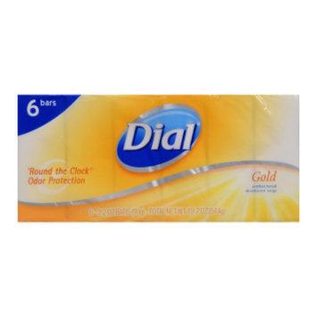 Dial Gold Antibacterial Deodorant Bar Soap - 6 bars