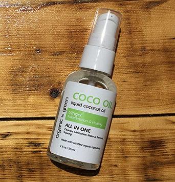 Liquid Coconut Oil Ginger