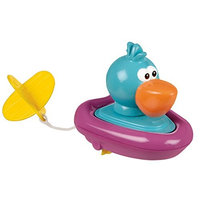 Sassy Pull and Go Boat Bath Toy, Pelican