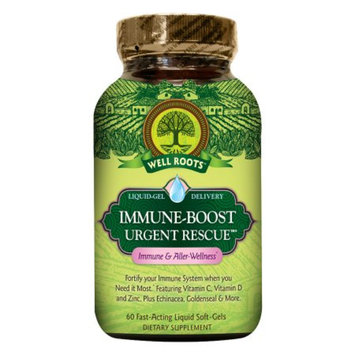 Well Roots Immune-Boost Urgent Rescue, Softgels, 60 ea