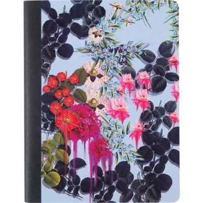 Cynthia Rowley Composition Book, College Ruled, Assorted Floral, 80 Sheets (26943)