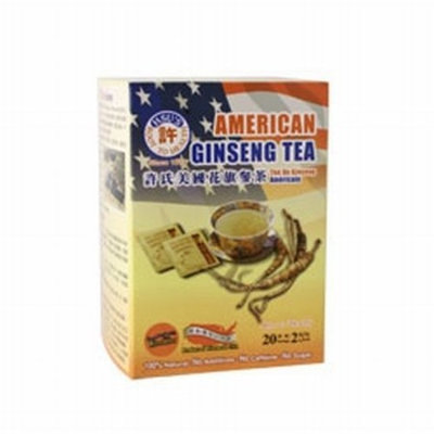 Distributed by Health King Hsu's Root to Health American Ginseng Tea, 20 Teabags