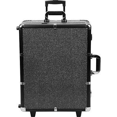 Sunrise Makeup Case with Lights Portable Rolling Studio