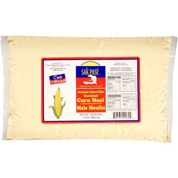 Generic Sak Pase Madame Port-Au-Prince Accasan Extra Fine Corn Meal, 2 lbs