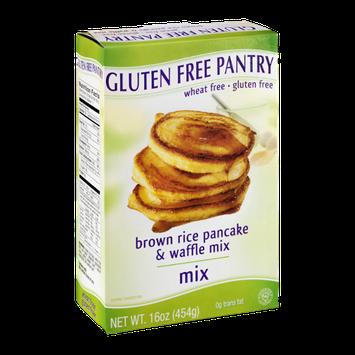 Gluten Free Pantry Brown Rice Pancake & Waffle Mix