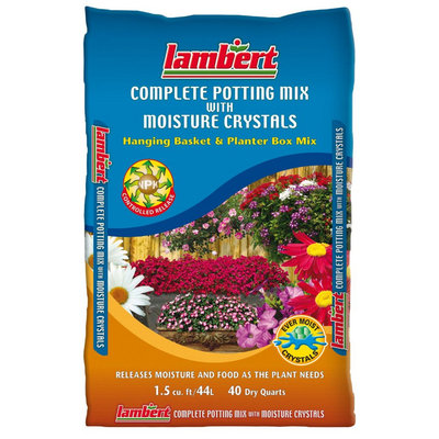 Complete Potting Mix with Moisture Crystals - 40 quart