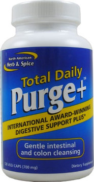 North American Herb Spice Total Daily Purge + by North American Herb and Spice - 120 Capsules
