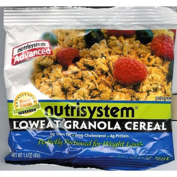 NutriSystem Advanced Lowfat Granola Cereal