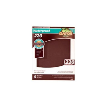 Ali Industries 5PK 9x11 220G Sandpaper