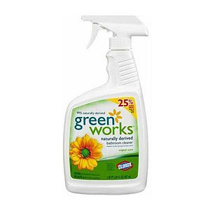 Clorox Green Works Natural Bathroom Cleaner