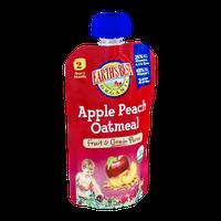 Earth's Best Organic Stage 2 Apple Peach Oatmeal Fruit & Grain Puree