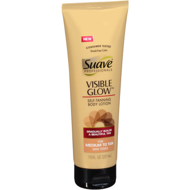 Suave® Visible Glow Lotions - Medium to Tan