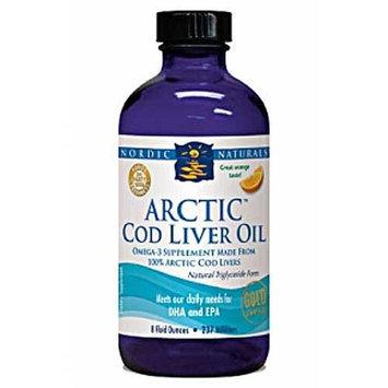 Nordic Naturals Arctic Cod Liver Oil - Plain 8 oz.