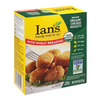 Ian's Wheat Breading Organic Chicken Nuggets