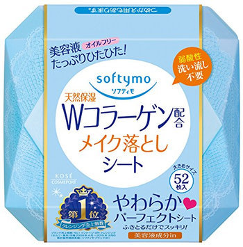 KOSE Softy Mo Super Makeup Cleansing Sheet Collagen