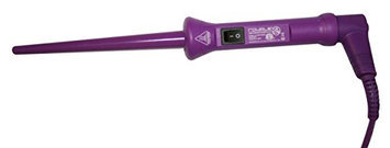Royale Infinite Baby Curls Purple Tourmaline Barrel Curler/Styling Iron (18/9mm)