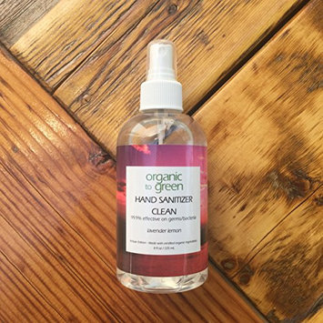 Hand Sanitizer Clean Lavender Lemon - 8oz