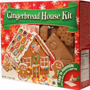 Create-A-Treat Gingerbread House Kit