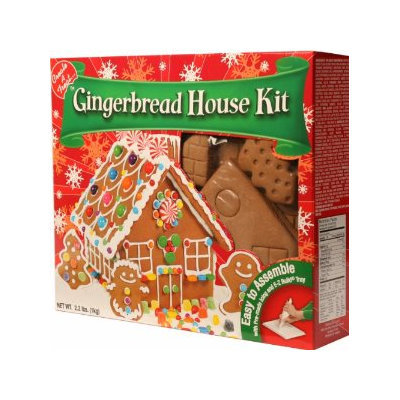 Create-A-Treat Gingerbread House Kit