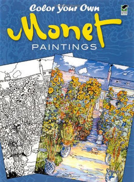 Dover Publications Color Your Own Monet Paintings - 1 ct.