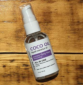 Liquid Coconut Oil Jasmine Ylang Ylang - Moisturizing