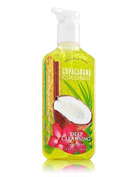 Bath & Body Works® COPACABANA COCONUT Deep Cleansing Hand Soap