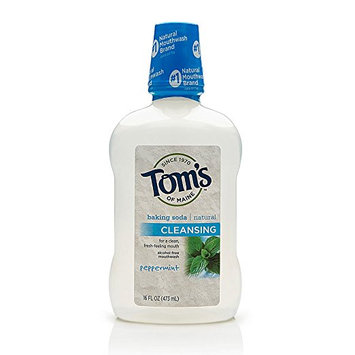 Tom's OF MAINE Naturals Baking Soda Cleansing Mouthwash Peppermint