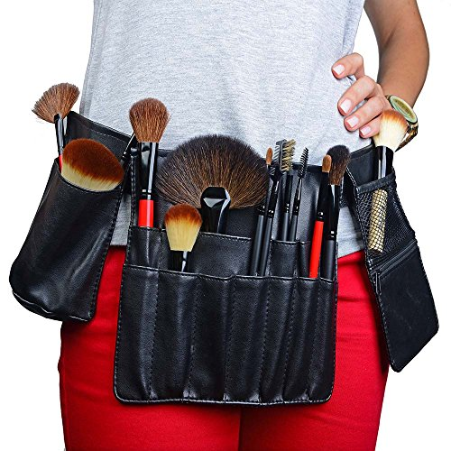 SHANY Pro Artist Specialty Makeup Brush Apron Set 3 Compartments