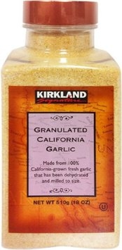 Kirkland Granulated California Garlic